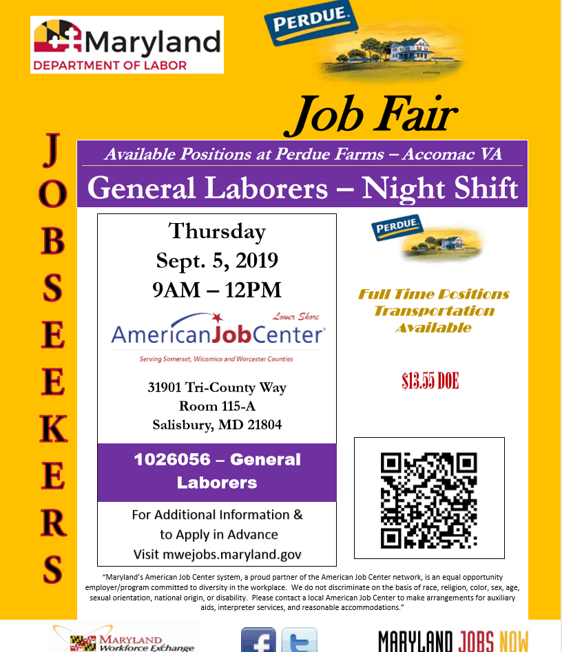 American Job Center | Serving the Lower Eastern Shore of
